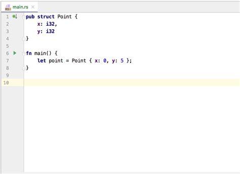 changelog intellij rust tuple convert struct refactoring block into
