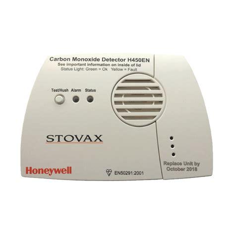 carbon monoxide detector stovax accessories