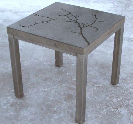 Best 25+ Concrete Table Ideas On Pinterest