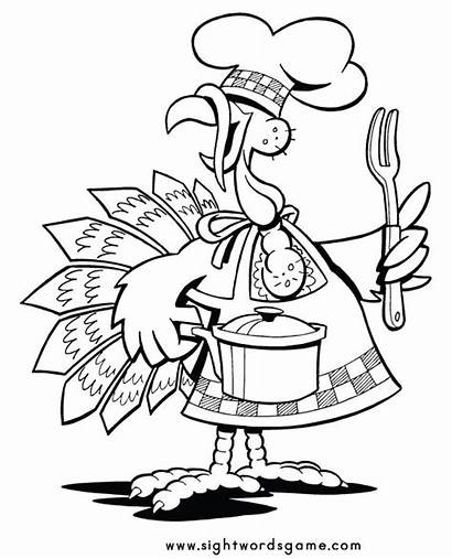 Coloring Thanksgiving Pages Grade Fun Activities 4th