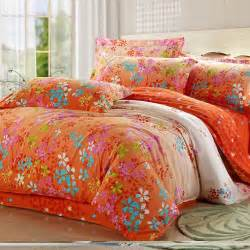 bright orange comforter sets promotion online shopping for promotional bright orange comforter