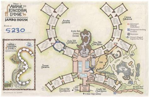Animal Kingdom Lodge Jambo House Map