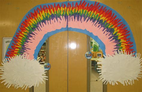 rainbow craft crafts  worksheets  preschool