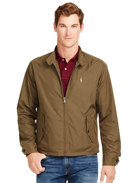polo ralph jacket in green for lyst