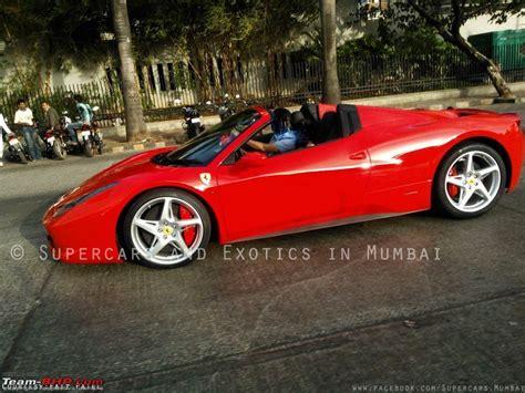 Ferrari 458 Spider In Mumbai