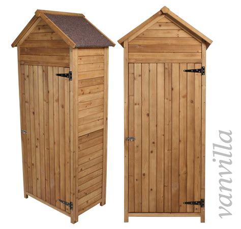 Geräteschrank Geräteschuppen Vanvilla Gartenhaus Holz