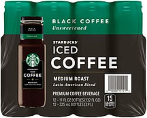Healthy starbucks drinks low calorie hily inspired. Starbucks Iced Coffee Black Unsweetened Medium Roast Latin America Blend Coffee Drink - 132 oz ...