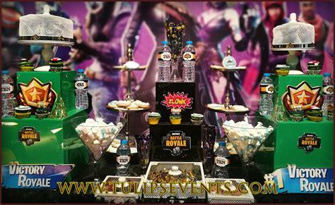 fortnite theme birthday  birthday party planner