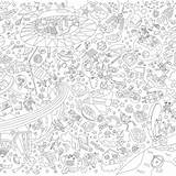 Coloring Poster Giant Omy sketch template