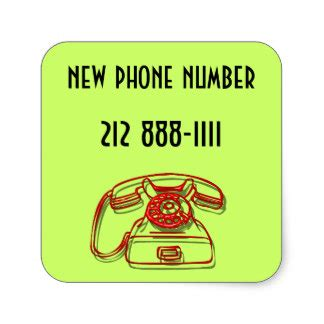 square phone number phone number stickers and sticker transfer designs zazzle uk