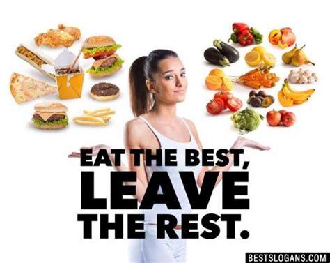 healthy eating slogans sayings  kids adult