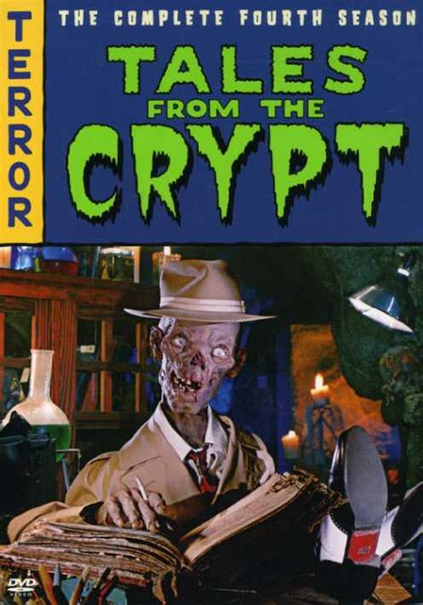 Graphic Horror Tales From The Crypt Season 4  Flights, Tights, And Movie Nights