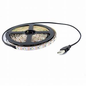 Usb Led Strip : 5v led strip light usb white for tv backlighting ~ A.2002-acura-tl-radio.info Haus und Dekorationen