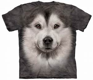 Alaskan Malamute Shirt Tees and Apparel Made of Natural ...