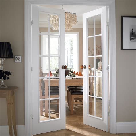 Living Room Doors At B Q by Cadeby 10 Lite Clear Glazed Moulded