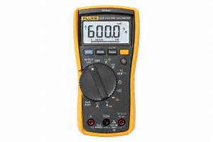 Electrical Multimeter Fluke 117 Adjust to Demanding Settings
