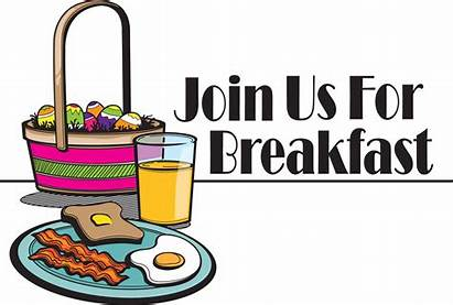 Breakfast Clip Easter Clipart Church Egg Brunch