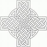Celtic Coloring Cross Pages Mandala Printable Crosses Adults Designs Adult Sheets Knots Stencils Irish Knot Template Patterns Tattoos Prints Books sketch template