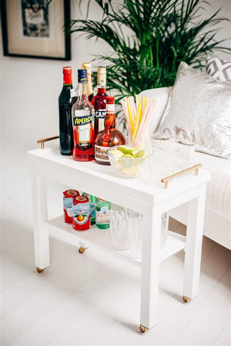 Ikea Tisch Bar by Nornas Ikea Hack Turned Into A Bar Cart Small House