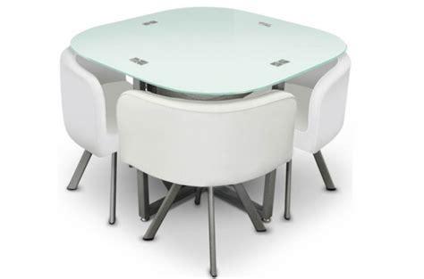 table repas damier 4 chaises blanche tables 224 manger pas cher