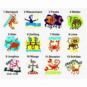 Sternzeichen Alle 12 : sternzeichen popart aufkleber sticker und folien f r auto boot caravan und mehr ~ Markanthonyermac.com Haus und Dekorationen