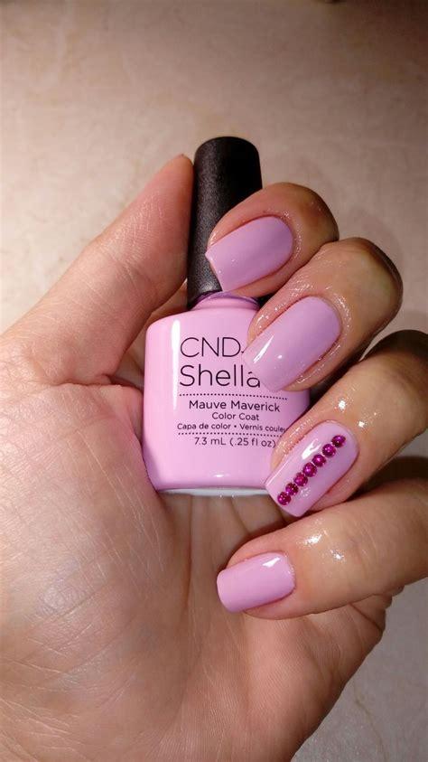 cnd shellac mauve maverick   shellac nail colors