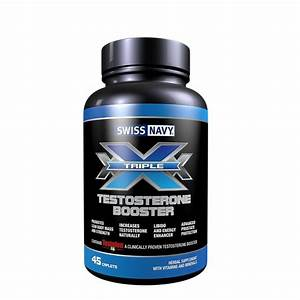 Swiss Navy Triple X Testosterone Booster 45 Capsules Men U0026 39 S Health Enhancement