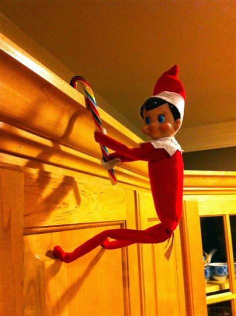 elf on the shelf on the shelf inspiration