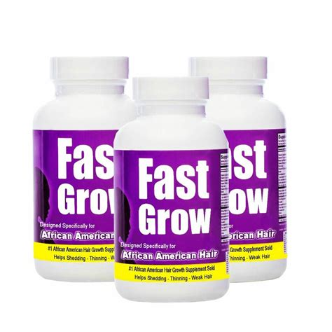 growth hair vitamins african american month grow fast faster supplement exotic