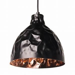 Suspension Noire Design : suspension industrielle design noire talia kosilum ~ Teatrodelosmanantiales.com Idées de Décoration