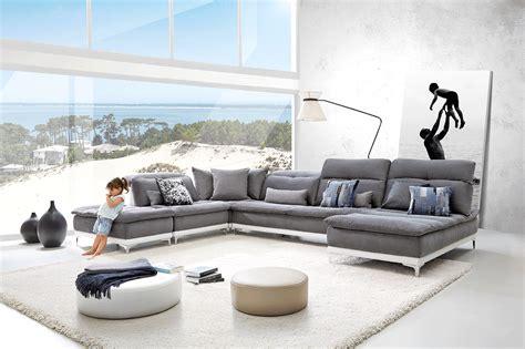 home salon canape horizon canapé tissu base en cuir sur couette et