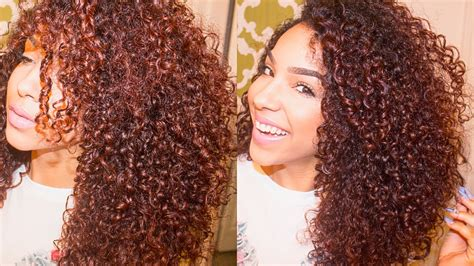 How to Style Naturally Curly Hair YouTube