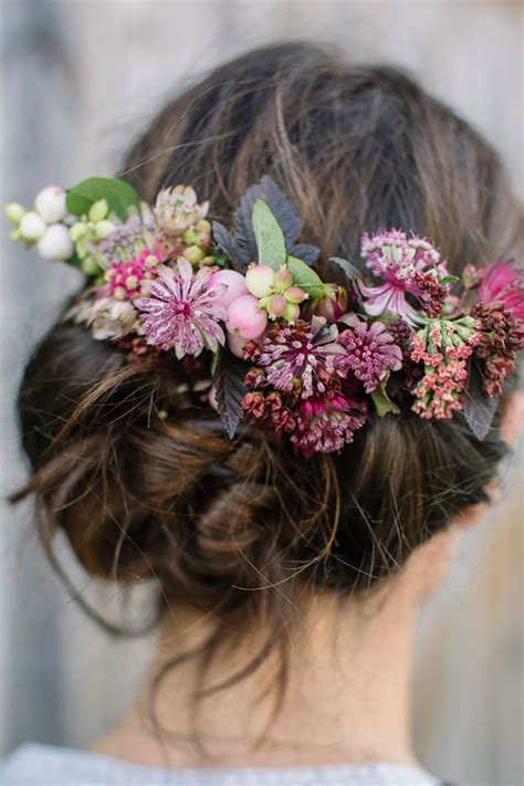 25 best ideas about flower hair on pinterest simple