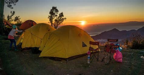 bali acampada de  dias en el monte batur ubud