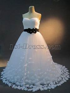white and black plus size bridal gown img 23171st dresscom With plus size black and white wedding dresses