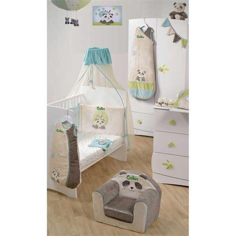 chambre bébé panda tableau lumineux pour enfant personnalisé pandi panda