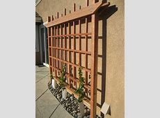Wall Grape Trellis by Cantil3v3r LumberJockscom