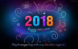 60 Beautiful 2018 New Year Wallpapers for your desktop