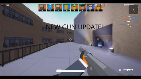 gun update roblox bad business youtube