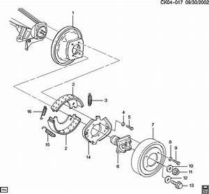 Chevrolet P30 Shoe  Driveline Parking Brake  Shoe Kit