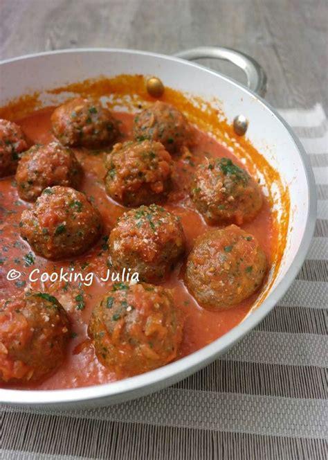 cuisiner boulette de viande cooking boulettes de viande à l 39 italienne plats