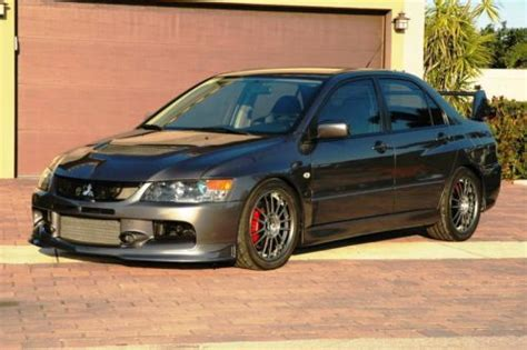 2006 Mitsubishi Lancer Evolution Mr For Sale by Sell Used 2006 Mitsubishi Lancer Evolution Mr With 4k