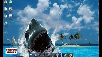 Background Google Chrome Change Desktop Screen Using