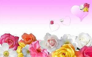 Roses & Love Hearts Wallpapers | HD Wallpapers | ID #6597