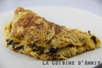 cuisiner les morilles recette omelette aux morilles séchées la cuisine familiale un plat une recette