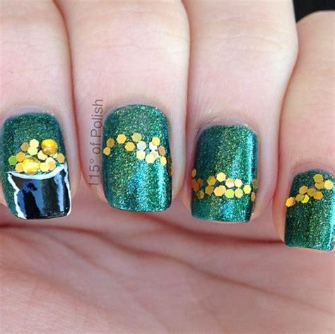 st patricks day nail designs festive st s day nail ideas crafty morning