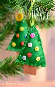 Felt, Christmas, Tree, Ornament