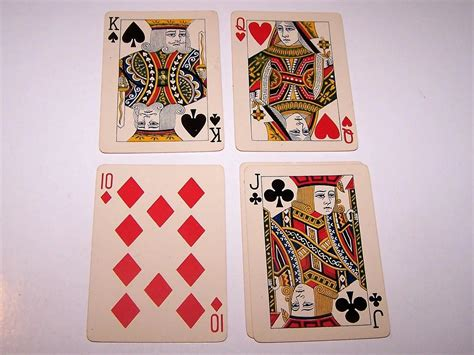 """Printed by the united states playing card company on o Standard Playing Card Co. """"Society"""" Playing Cards, """"Daisies"""" Back : Two For His Heels   Ruby Lane"""