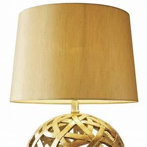 Antique gold globe table lamp lightbox for Gold globe floor lamp