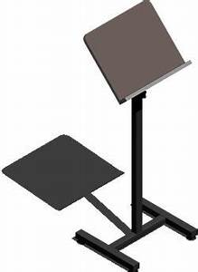 Free standing Lectern 3D DWG Model for AutoCAD • Designs CAD
